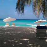 Dover Beach. A casual 2 mins walk away from the hotel.