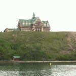 Prince of Wales hotel as seen from the Lake