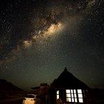 The night sky at Hoodia Lodge