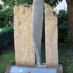 RAF memorial - propeller from crashed plane
