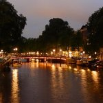 jordaan - canale e ponte - notte