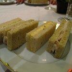 Lovely tea sandwiches