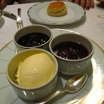 Beautiful clotted cream and preserves
