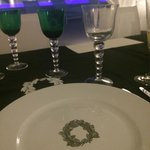 Private dinner place setting