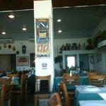 Interior do Restaurante Ki Mukeka em Armação, Salvador, BA