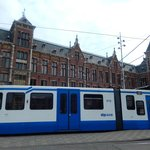 centraal station - facciata e tram