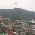 view kamar hotelku di grand ambassador hotel seoul