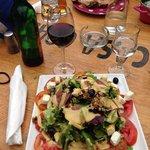 My Corsican salad