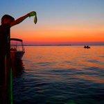 Fish feeding at Sundowners. Photo by World Travel Family