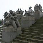 Парк скульптур Вигеланда .Монолит