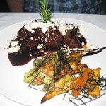 Meat dish at Francis'