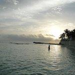 praia do hotel (parte ela)