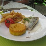 Childs Menu with fresh fish fillet
