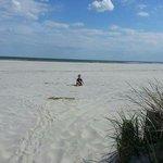 Zayden on the Beach..