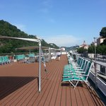 Amadeus Brilliant top deck in Passau