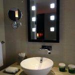 Love the bathroom mirror