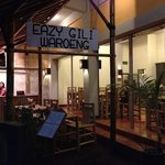 Eazy Gili Waroeng's sign