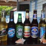 local & international beers