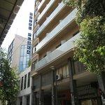 Hotel Plaka from Mitropoleos Street