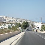 Main road into Fira
