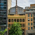 Pender Street View of Totem Pole