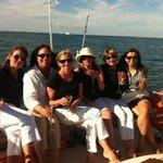 Enjoying our sail