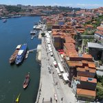 The Ribeira, where all the cool riverside restaurants are.