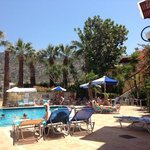 The pool area :)