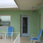Sit on the veranda and enjoy your ocean view!