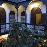Balcon Riad Dar Tamlil.