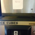 ALL ice machines conveniently out of service