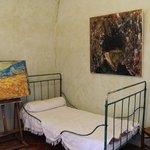 Mock Set up of Van Gogh's room