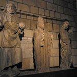 Estatuas en la Catedral de León