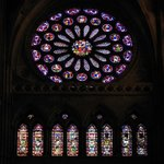 Detalle de Vidrieras en la Catedral de León