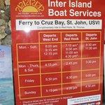 Ferry Schedule