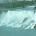 American Falls from 20th floor window ...what a view