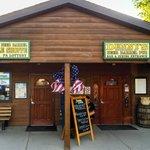 Entrance to Denny's Beer Barrel Pub