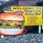 Denny's Challenge Burgers