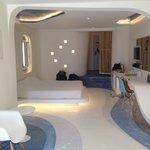 Blue lagoon room