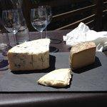 Beau plateau de fromage !!