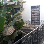 vista de las habitaciones de la primera planta