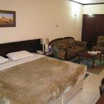 Очень большая уютная комната