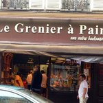 Le Grenier a' Pain, rue de Abbesses