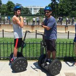 Mike & Gabe in front of the White House