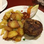 meatball with potatoes
