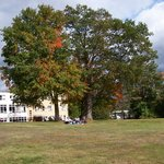 Fall is beautiful on the Monastery Estate grounds.