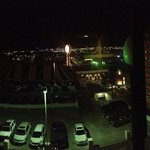 Night view from room.