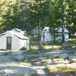 Tent cabins at Tuolumne Meadows