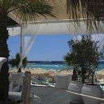 vue depuis la piscine/bar/terrasse restaurent