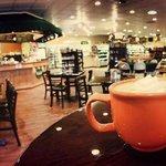 Enjoy a latte! (photo by PennYanUSA)